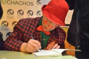 El protagonista del libro es Fernando Álvarez, más conocido como el payaso Pancracio.